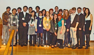 All 22 speech contest finalists for 2011