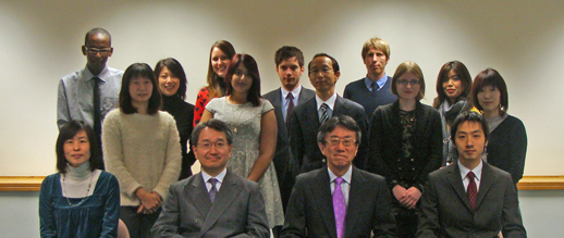 Staff at the Japan Foundation London